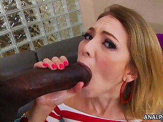 Painful monster black cock ass fuck - Angel Smalls