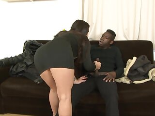 Big ass babe Mira Cuckold shows her lover how much of a BBC slut she is