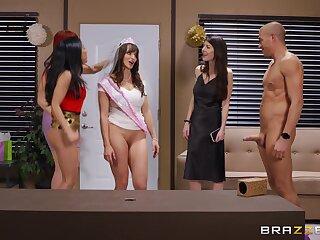 Crazy ass hardcore sex everywhere a bunch of hot women