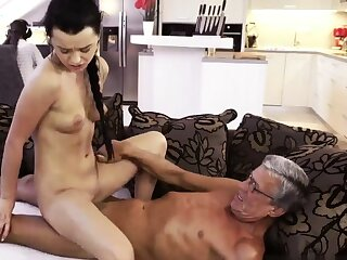 Teen big tits sunless short hair waggish stage What would