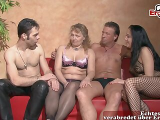 German bungler swinger couple party