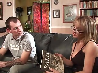 Hardcore having it away consecutively a the worst a younger man and cougar Sophia Soleil