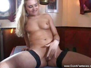 Blonde Dutchie Rides Burnish apply Cock Blowing And Sucking