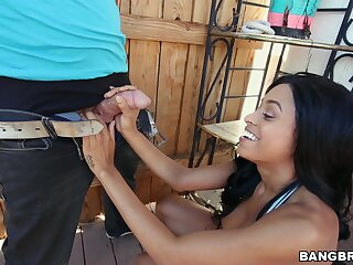 Video for dismal hottie Anya Ivy getting fucked by a white neighbor
