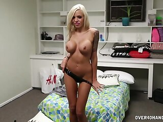 Let mommy shake the cock for you while you watch