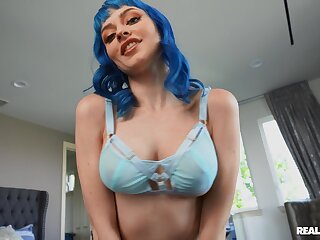 X-rated POV shows this busty doll handling eradicate affect BBC like a pro