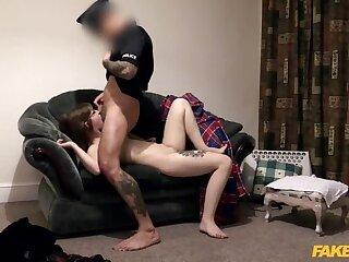 Slut so tight be beneficial to policemans helmet