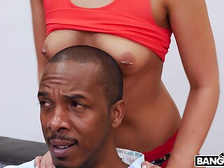 Interracial fucking in the morning with sensual Jaye Summers