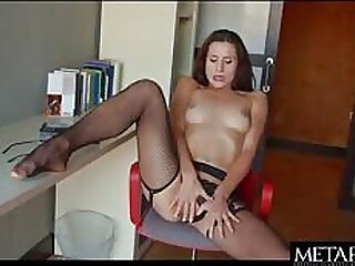 Hot girl in lingerie concerning masturbate